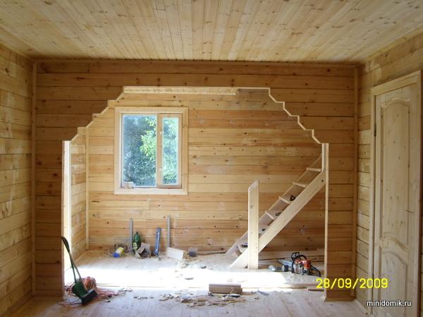 Дома из деревянного бруса своими рукам